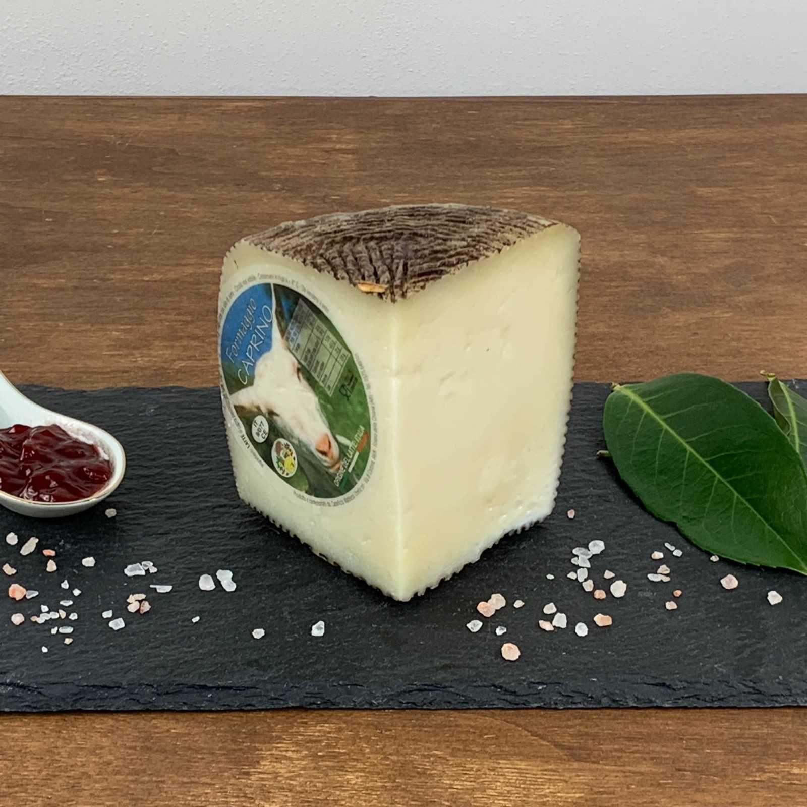 Semi-Aged Tuscan Goat Cheese.