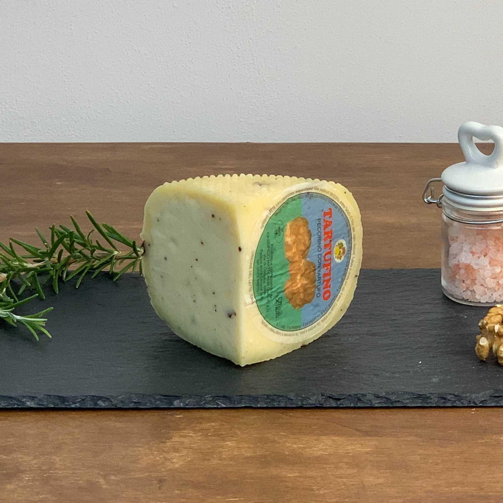 Pecorino Cheese With Truffle.