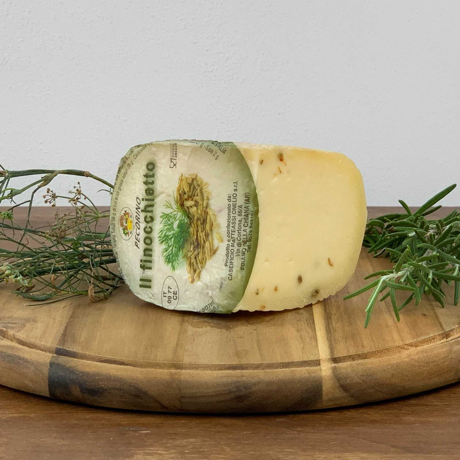 Pecorino Cheese With Fennel.