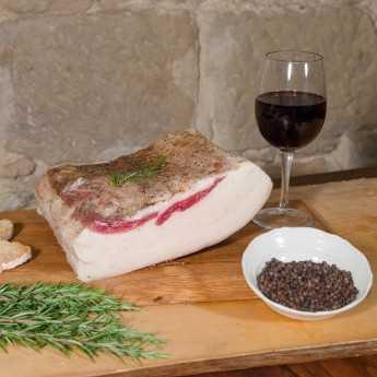 Pork Fatback (Lardo) - Filiera Valdichiana.