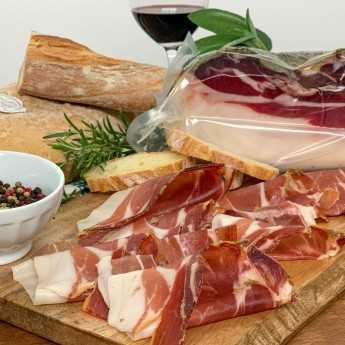 Cinta Senese PDO Ham (Prosciutto).