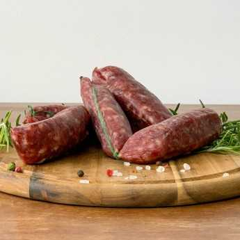 Cured Cinta Senese PDO Pork Sausage