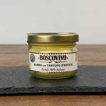 Black Summer Truffle Butter - Tuber Aestivum Vitt. - 100% Italian.