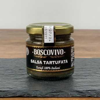 <h5>Black Summer Truffle Sauce - Tuber Aestivum Vitt. - 100% Italian.</h5>