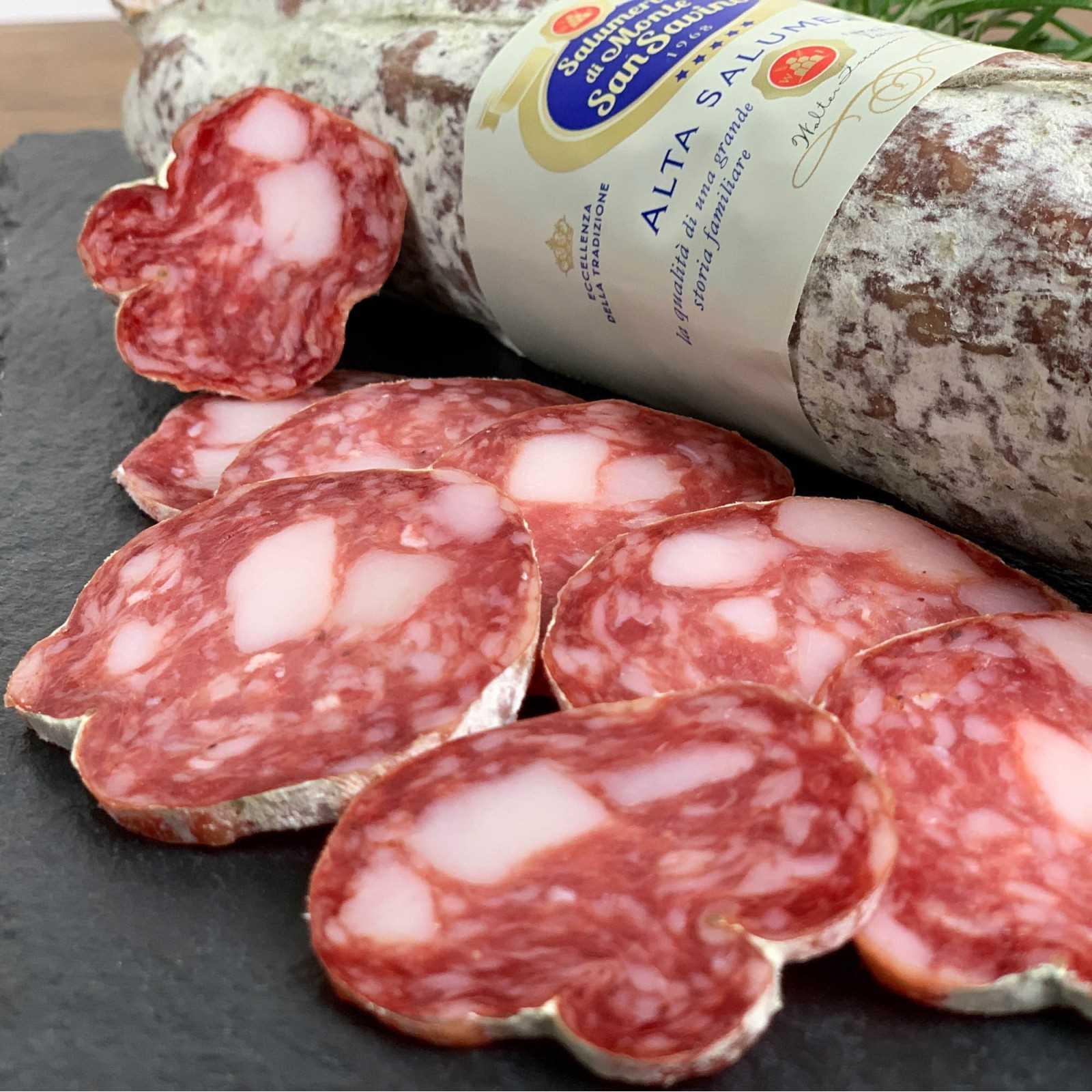 Toskanische Salami, ein Klassiker der Tradition.