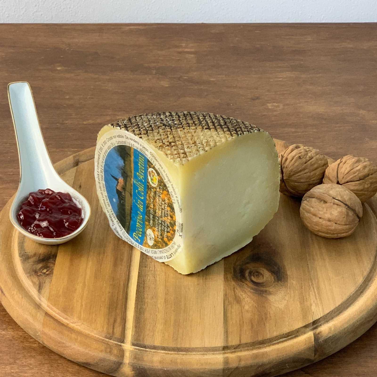 """""""Rigatello"""" Aged Tuscan Pecorino Cheese."""