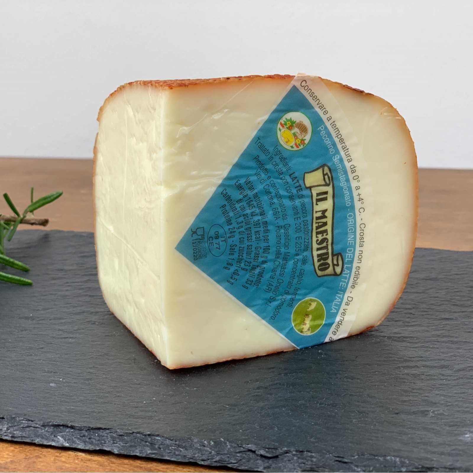 """Maestro"" Semi-Aged Tuscan Pecorino Cheese."