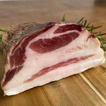 Tuscan Pork Jowl (Guanciale).