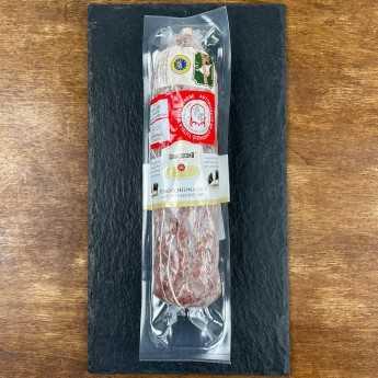 PDO Cinta Senese PGI Finocchiona (Fennel Seed Salami) - Natural Whole.