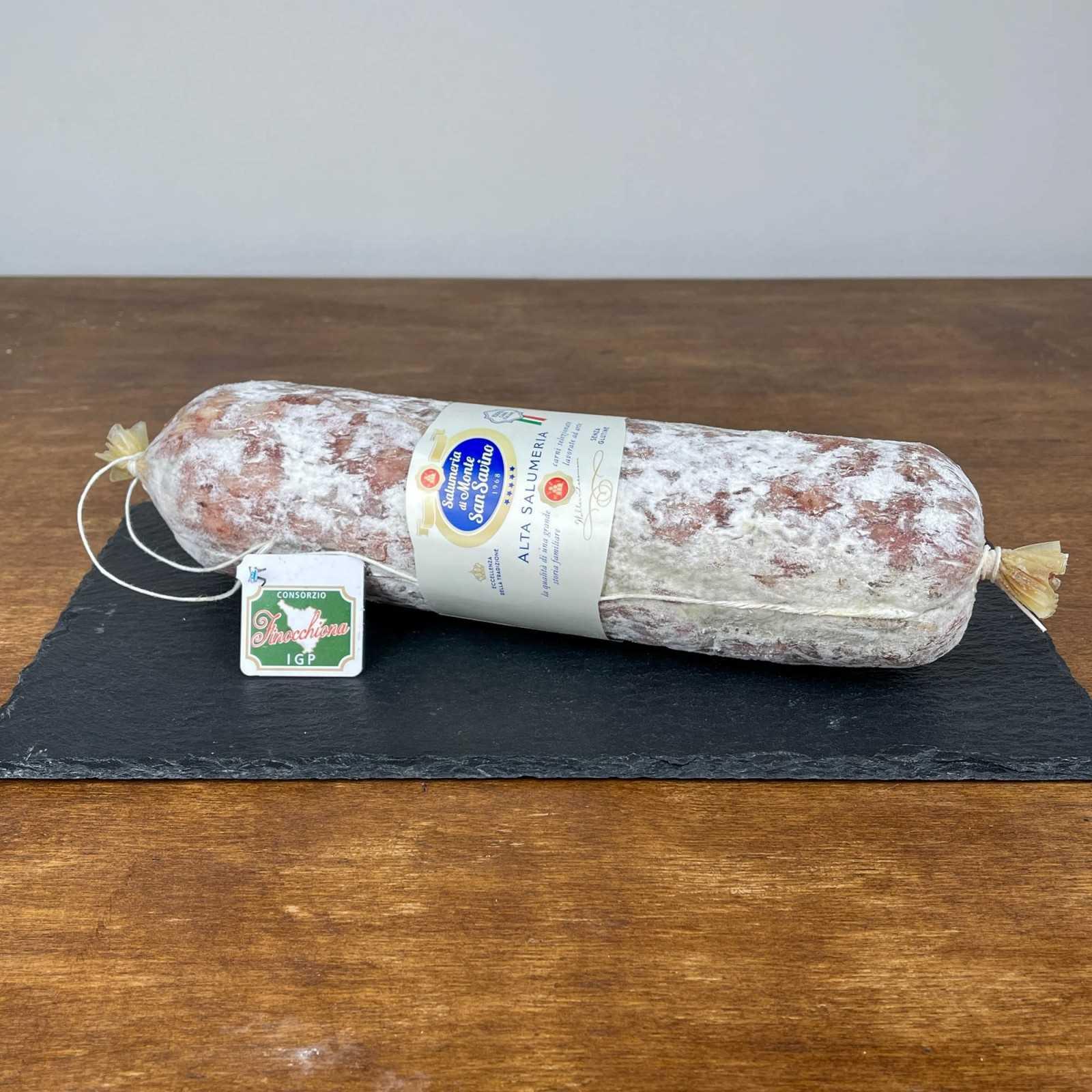 PGI Finocchiona (Fennel Seed Salami) - Large Natural Whole.