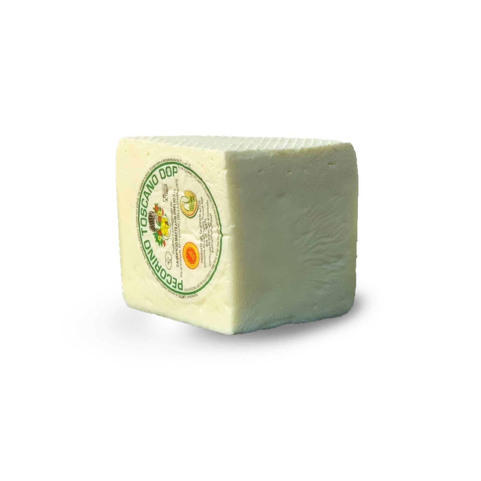 Frischer Toskanische Pecorino-Käse G.U.