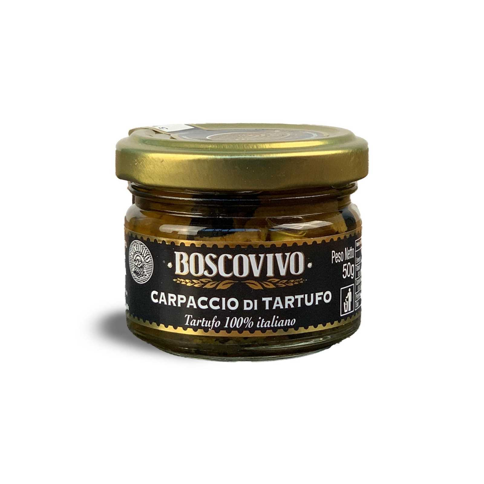 Black Summer Truffle Carpaccio - Tuber Aestivum Vitt. - 100% Italian.