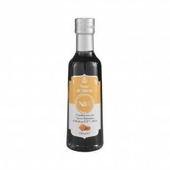 """Note Di Miele"" - Dressing with Balsamic PGI Vinegar of Modena and honey - 100% Italian - ""Note Di Nero""."