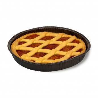 """<h5>""""Crostata"""" Aprikosenmarmeladentorte.</h5>"""