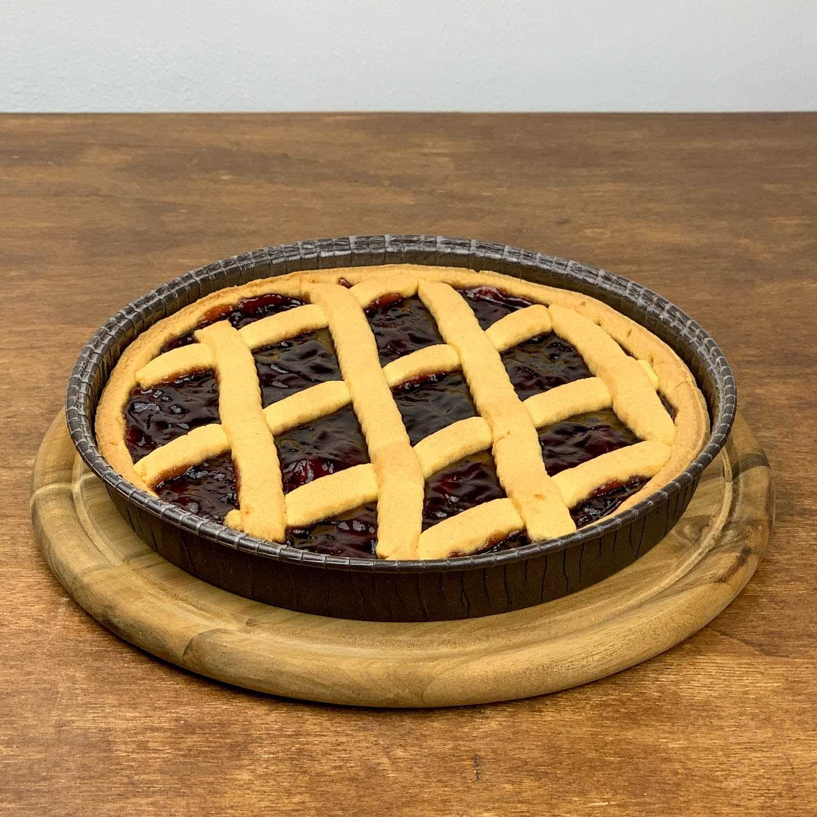 """Crostata"" Beerenmarmeladenkuchen."
