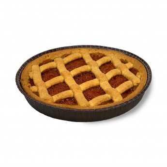 "<h5>""Crostata"" Verna Wheat Apricot Jam Pie.</h5>"