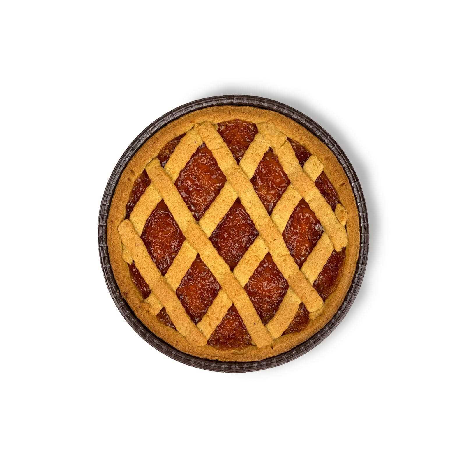 """Crostata"" Verna Wheat Apricot Jam Pie."