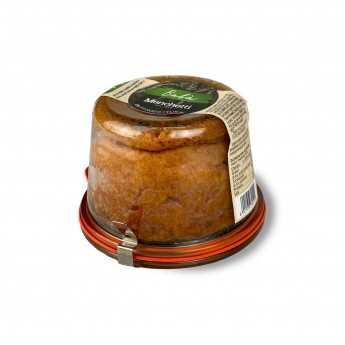 """<h5>Rum """"Babà"""" gebacken in einem Glas aus altem toskanischen Weizen Verna und Senatore Cappelli.</h5>"""
