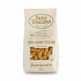 """Tuscan durum wheat """"Fusilli Grandi"""", bronze drawn and slow drying."""