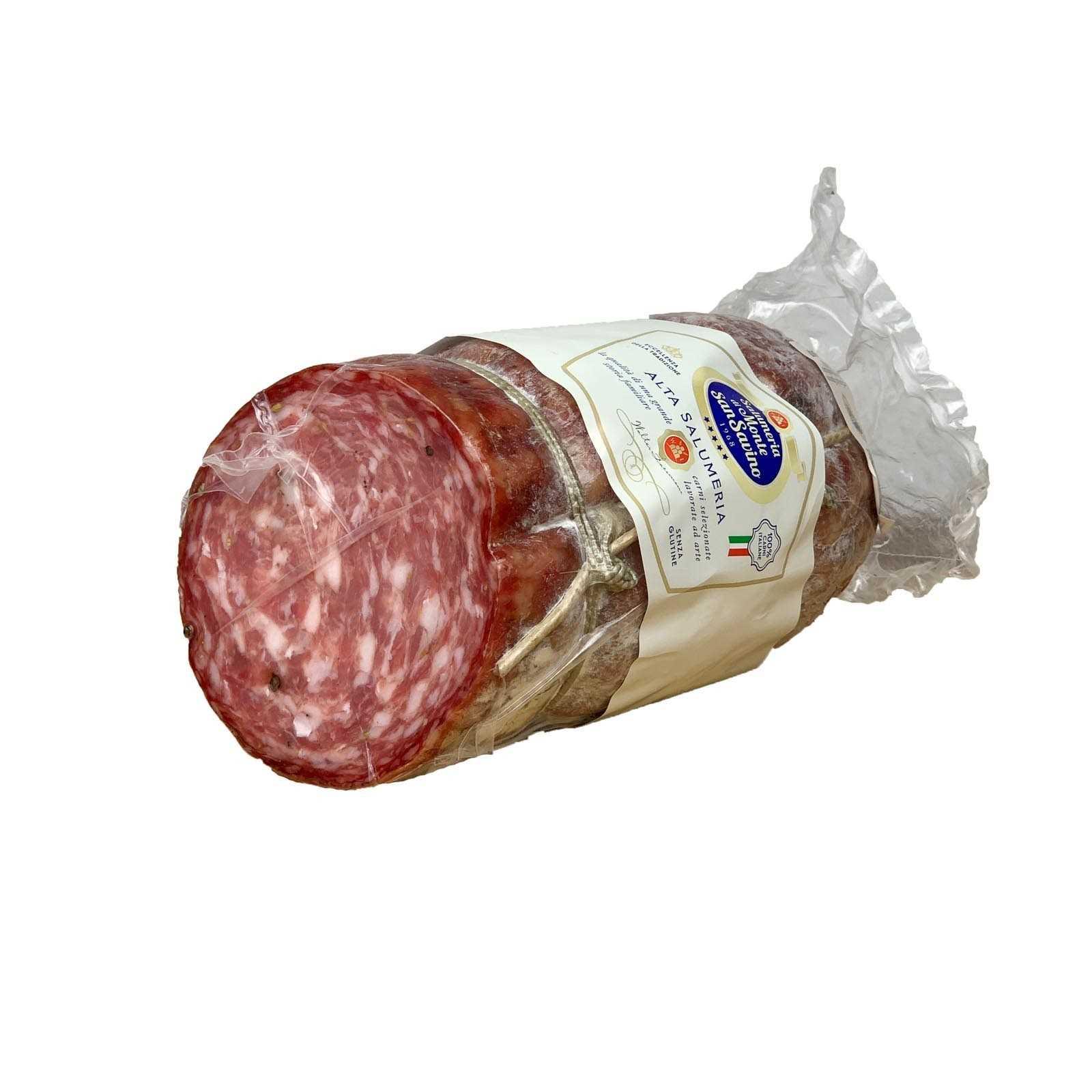 PGI Finocchiona (Fennel Seed Salami) - Large Vacuum-Packed Piece.