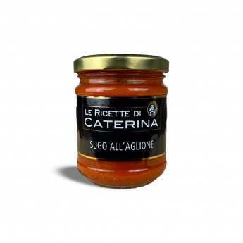 """""""Aglione"""" (Tomate Und Toskanischer Knoblauch) Nudelsauce."""